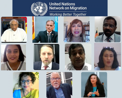 Launch of the UN Network on Migration in Sri Lanka